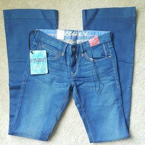Tall Mavi Kate 60s Flare Jeans